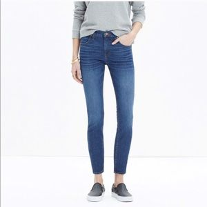 "Madewell 9"" High Riser Skinny Skinny Crop Jean"